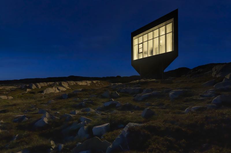 Powstające na wyspie obiekty projektuje studio Todda Saundersa. fot. Materiały prasowe