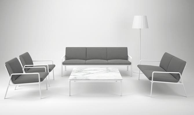 Kolekcja Park  Life jest kompletna, w jej skład wchodzą stoły, krzesła, sofy i leżanki. fot. Materiały prasowe