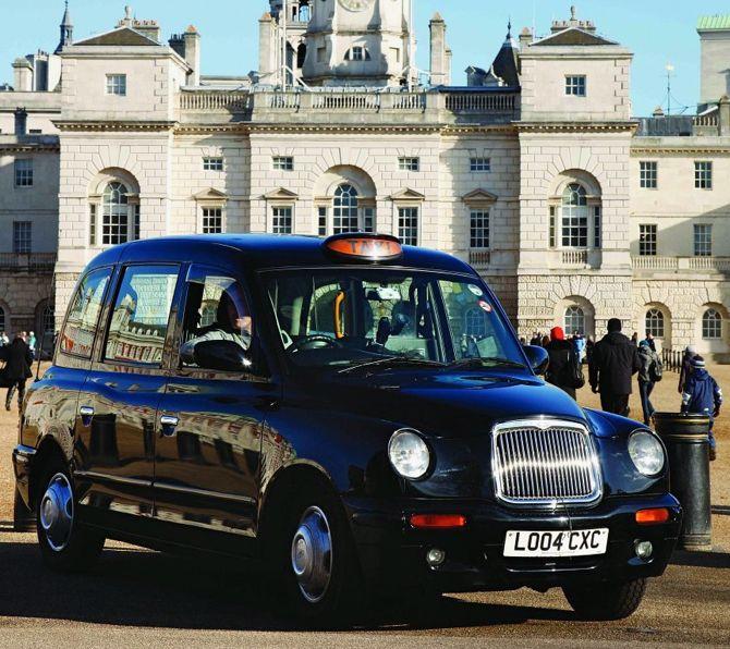 Black Cab, powstała dla Londynu w połowie lat 90. fot. Materiały prasowe