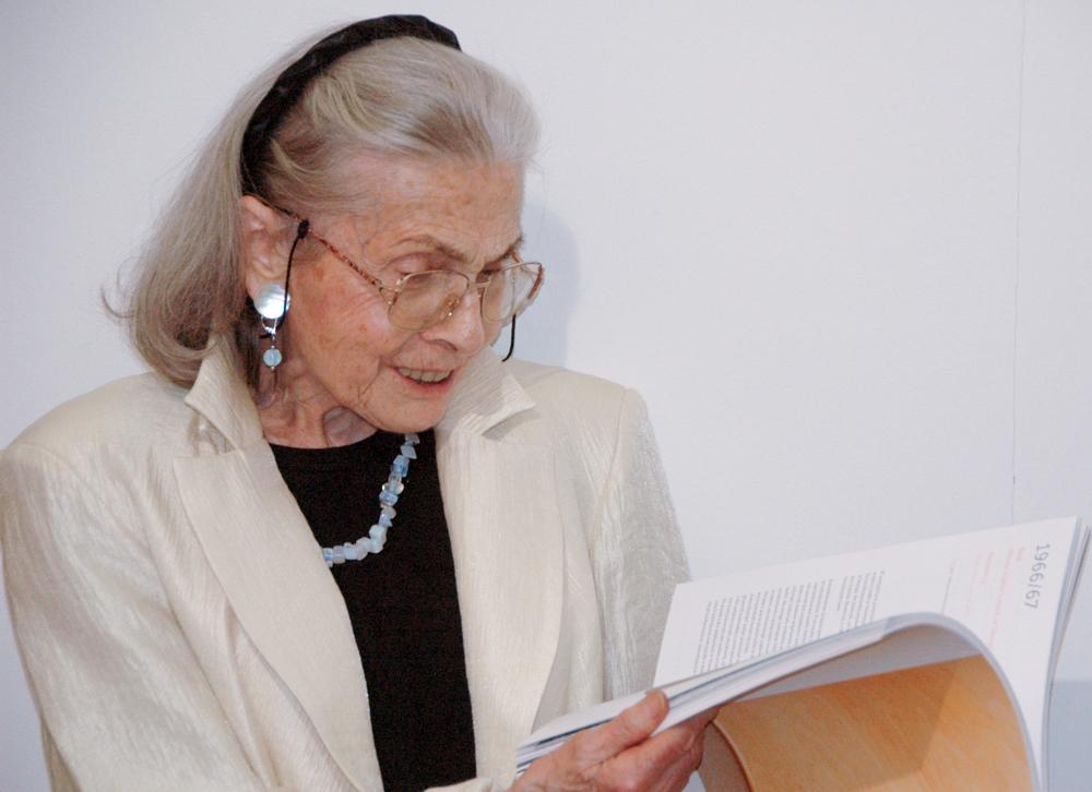 Teresa Kruszewska. fot. Zdzisław Sobierajski