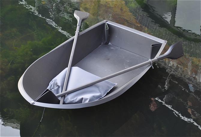 Foldboat, łódka jak z kartki papieru