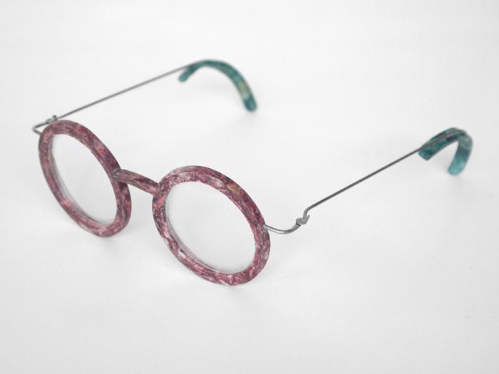 Okulary z rybich łusek
