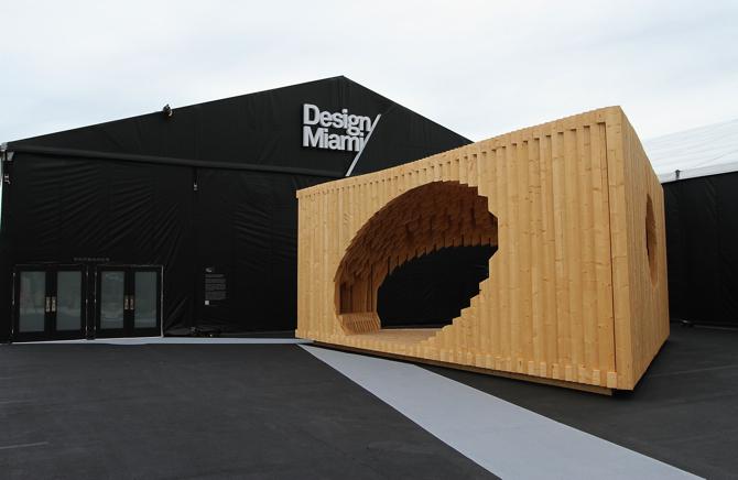 - Prace Davida charakteryzuje bardzo demokratyczne podejście do projektowania - przyznała Marianne Goebl, dyrektor Design Miami. fot. Materiały prasowe