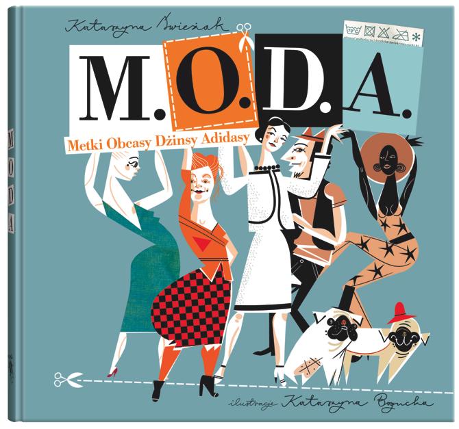 """Konkurs: Wygraj książkę """"M.O.D.A."""""""