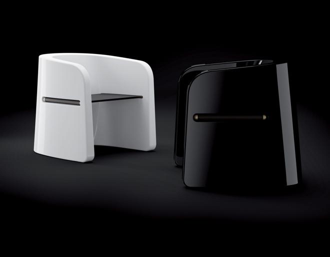 Na zewnątrz można zastosować stworzony przez Marco Zito projekt Talea, składający się z ławki oraz fotela. fot. Materiały prasowe