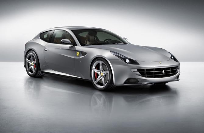 Ferrari FF zaprojektowane w Pininfarinie w zeszłym roku. fot. Materiały prasowe