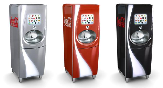 Projekt nowych dystrybutorów napojów Coca-Cola FreestyleTM. fot. Materiały prasowe