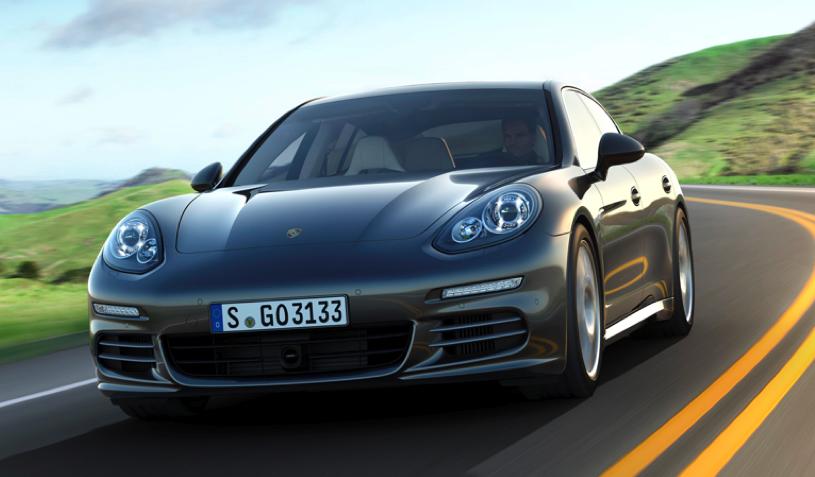 Luksusowe Porsche z napędem hybrydowym