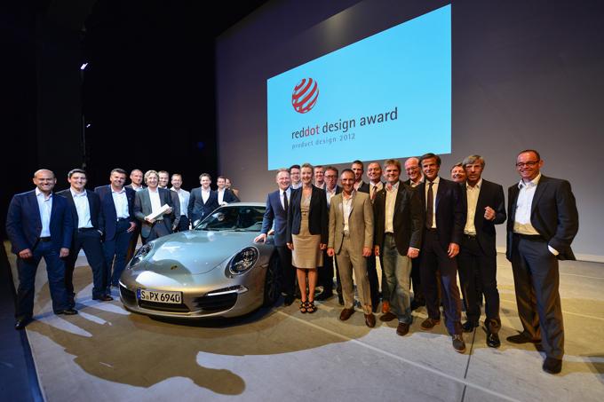 Zespołem projektowym 2012 roku została ekipa Porsche AG. fot. Materiały prasowe