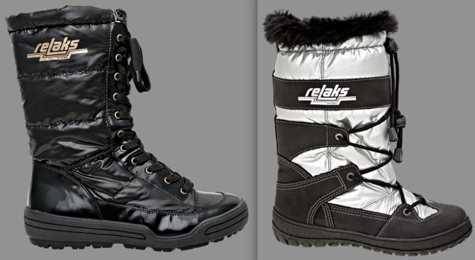 Zimowe buty Relaks były jednym symboli PRL-u. Dziś powracają w nowej odsłonie. fot. Materiały prasowe