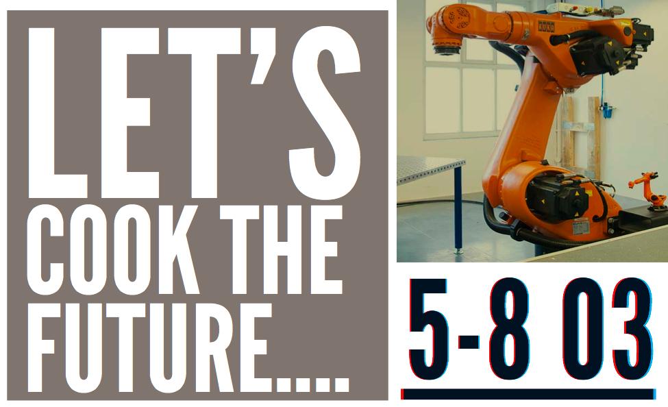 Robot będzie gotował na Arenie