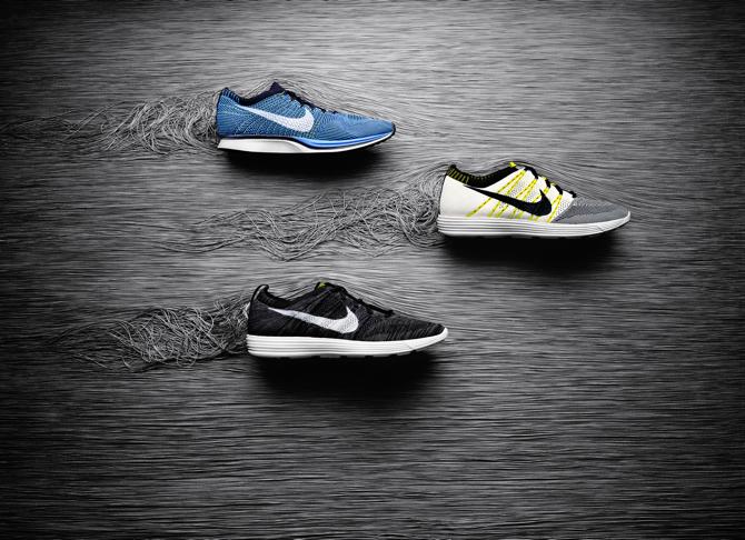Dziergane buty Flyknit marki Nike. fot. Materiały prasowe