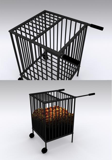 HeatHouse zaprojektowany przez Bartosza Muchę to jeden z elementów ekspozycji