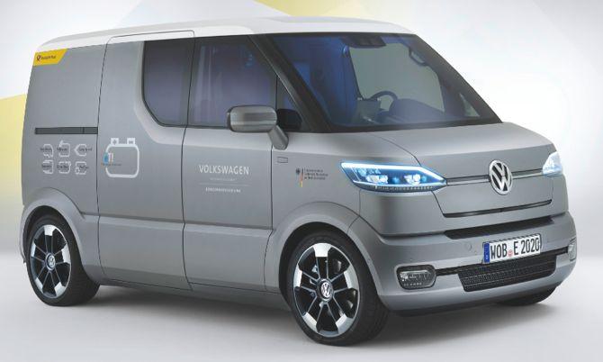 VW eT!, pocztowy samochód przyszłości