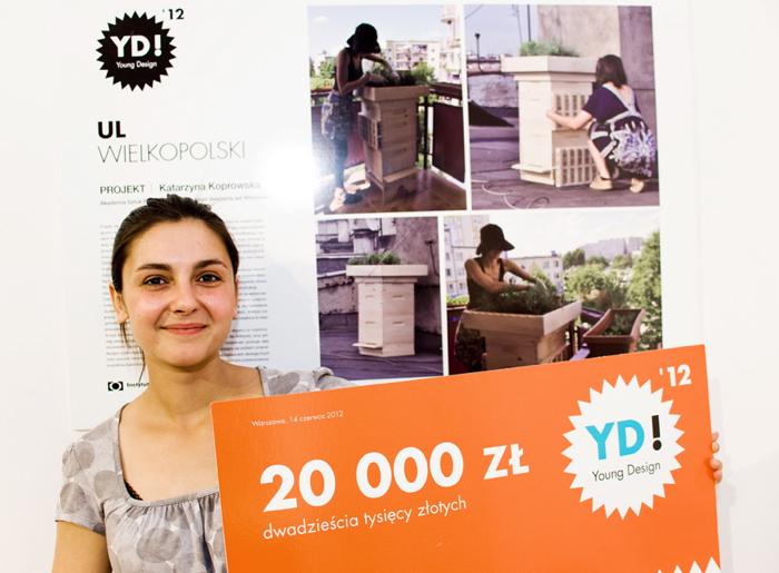"""Miejski ul najlepszy w """"Young Design"""""""