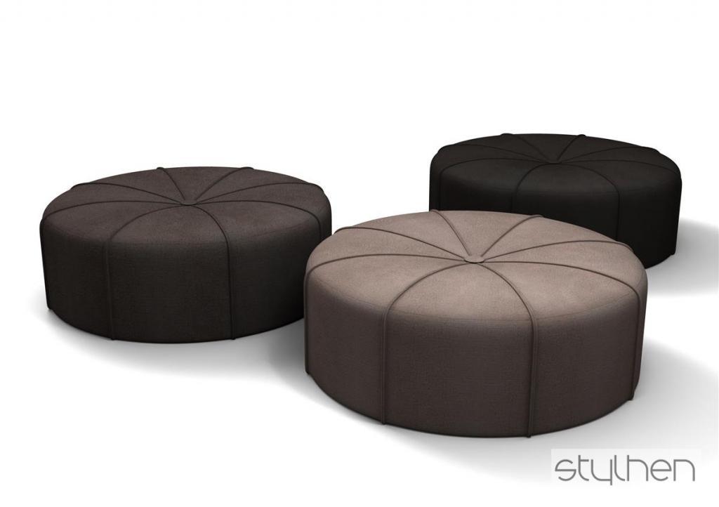 Uzupełnieniem foteli mogą stać się pufy One. fot. Materiały prasowe