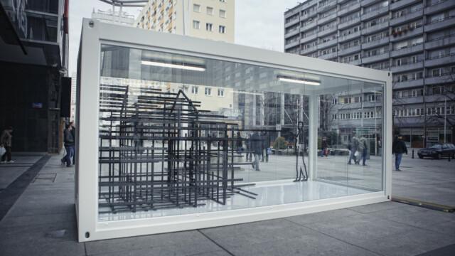 H&M: Zwycięska instalacja już w Warszawie