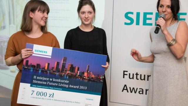 Konkurs Siemens Future Living Award rozstrzygni?ty!