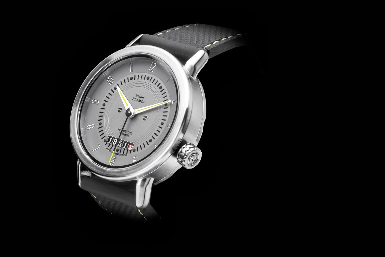 Zegarek FSO M20.02, projekt: Adam Tomaszewski, producent: Xicorr.