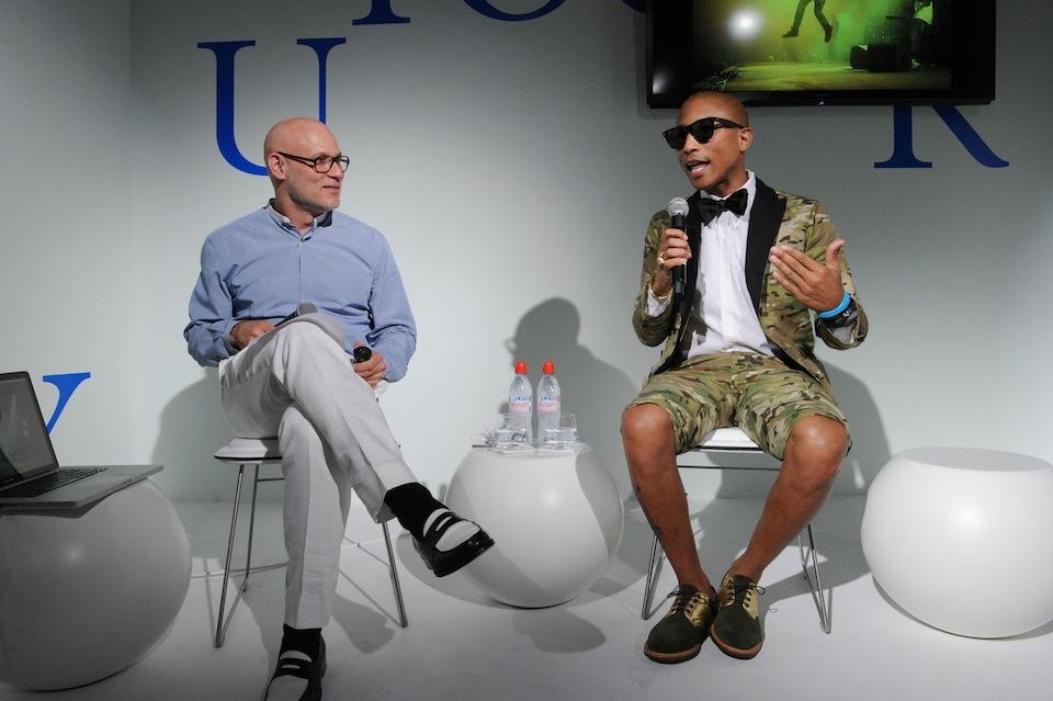 Pharrell Williams: Meble są jak muzyka [wideo]