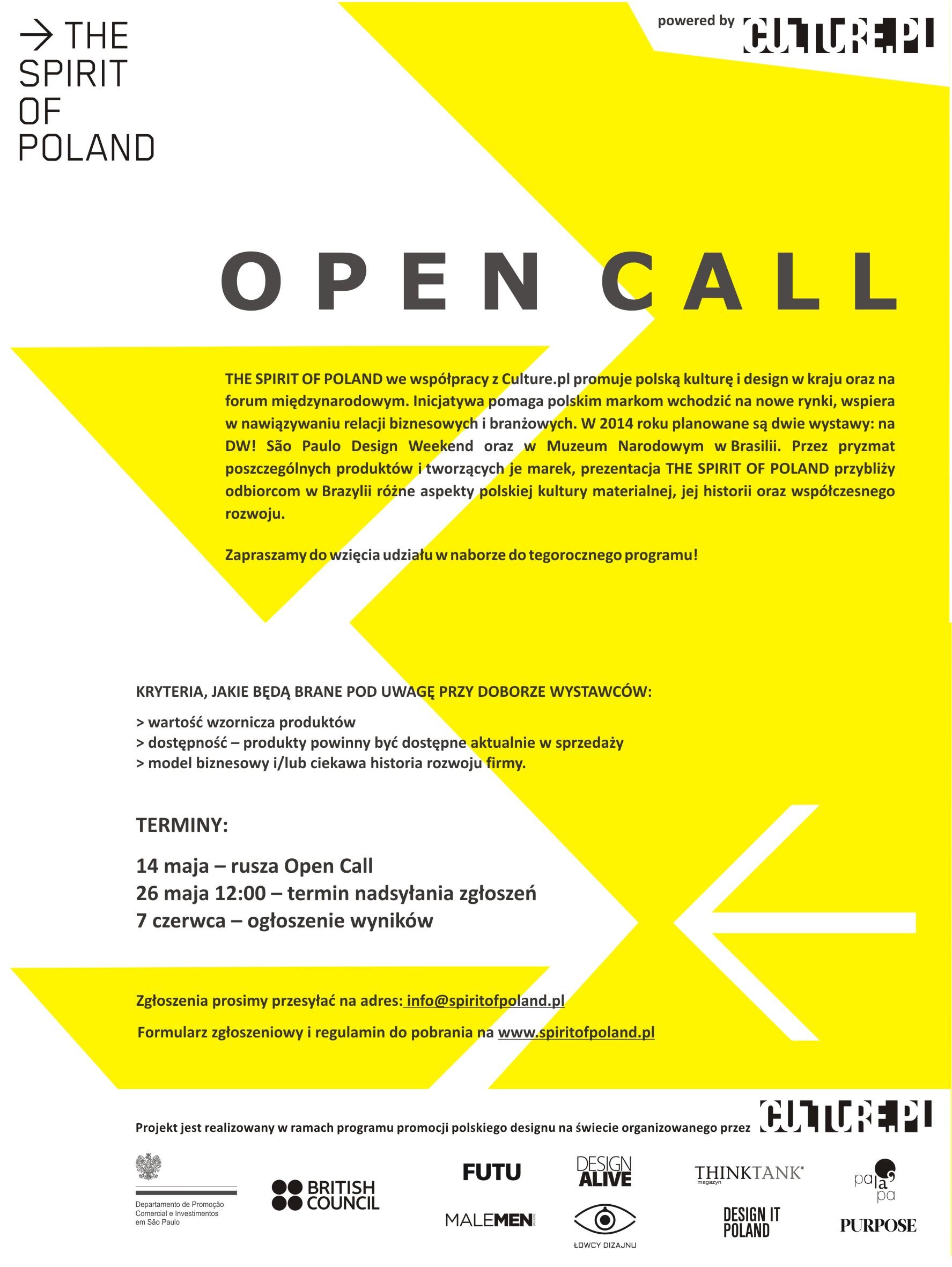 TSOP_plakat_Open Call_designalive