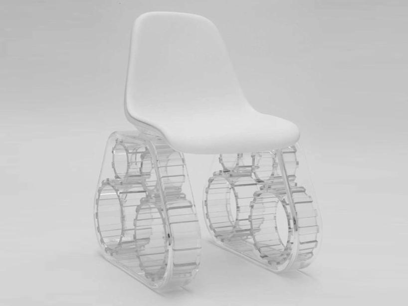 Krzesło Tank. fot. materiały prasowe