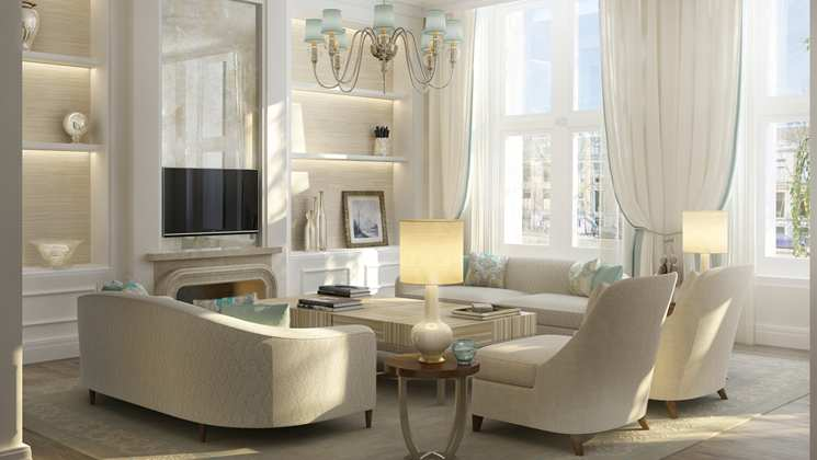 Living Area of Royal Suite