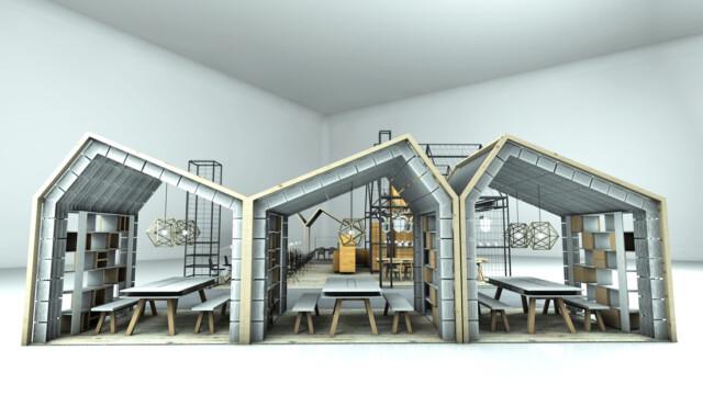 Concordia projektuje, gotuje i edukuje w centrum Areny