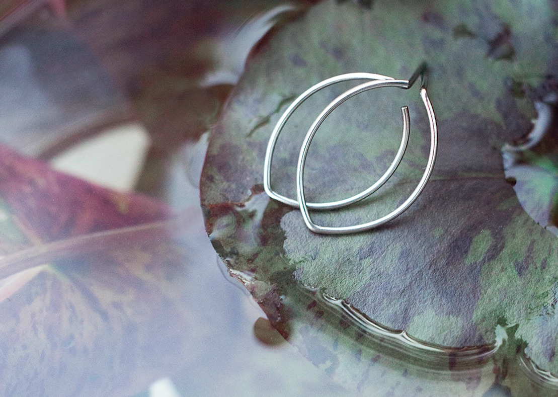Geometryczna organiczność biżuterii