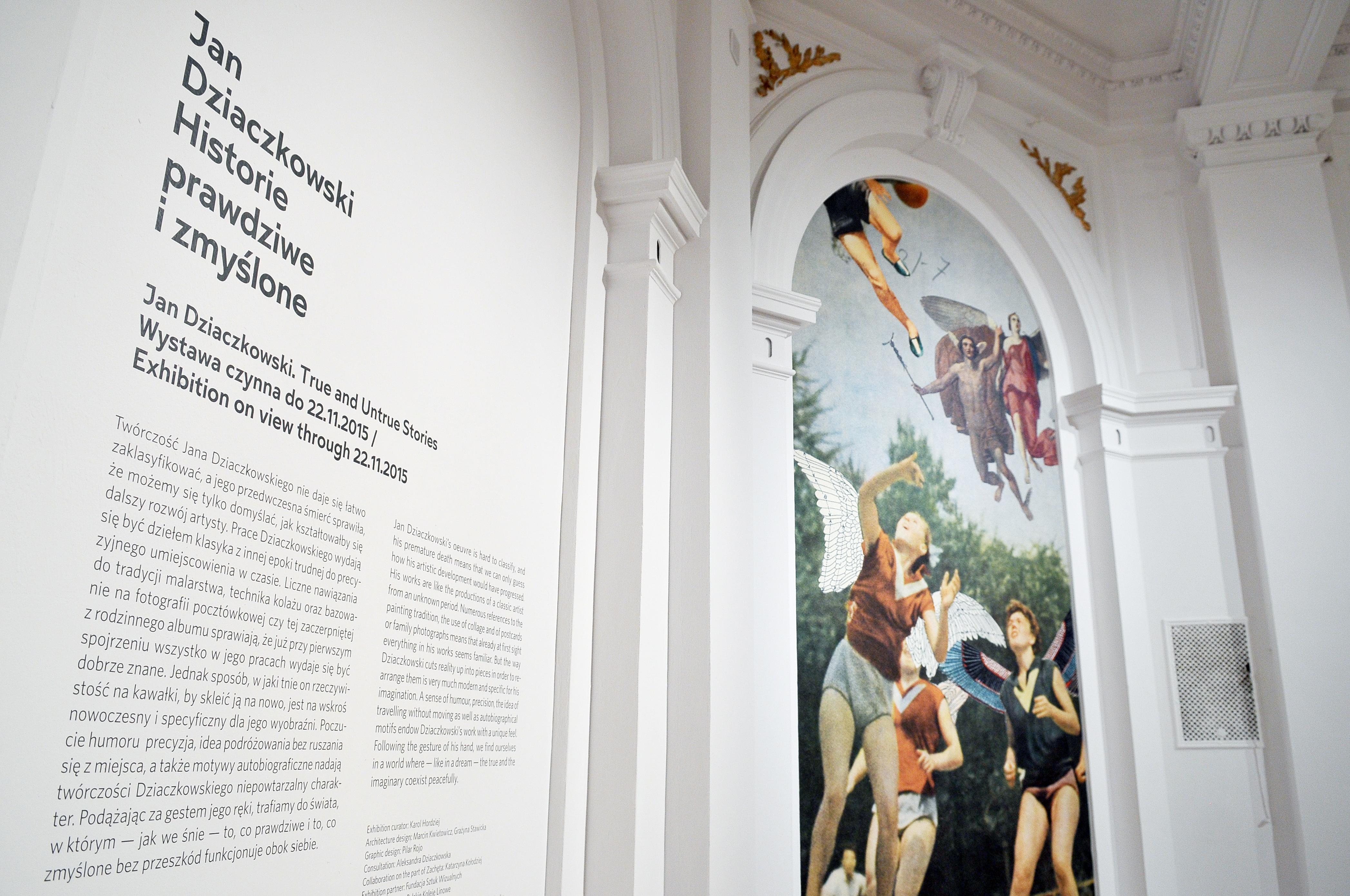 06-10-2015  Jan Dziaczkowski  exhibition in Zachêta – National Gallery of Art