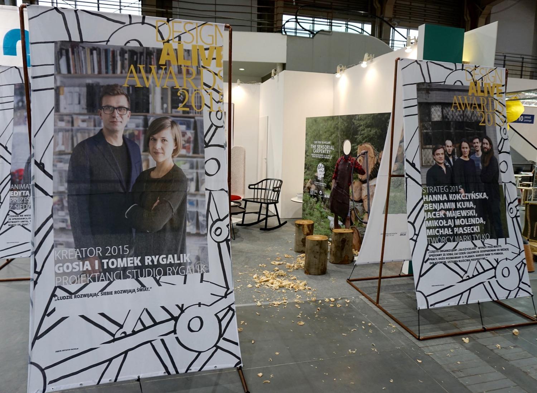 Wystawa Design Alive Awards 2015