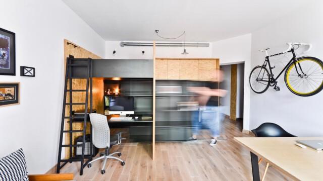 Mieszkanie i biuro na 37 metrach kwadratowych!
