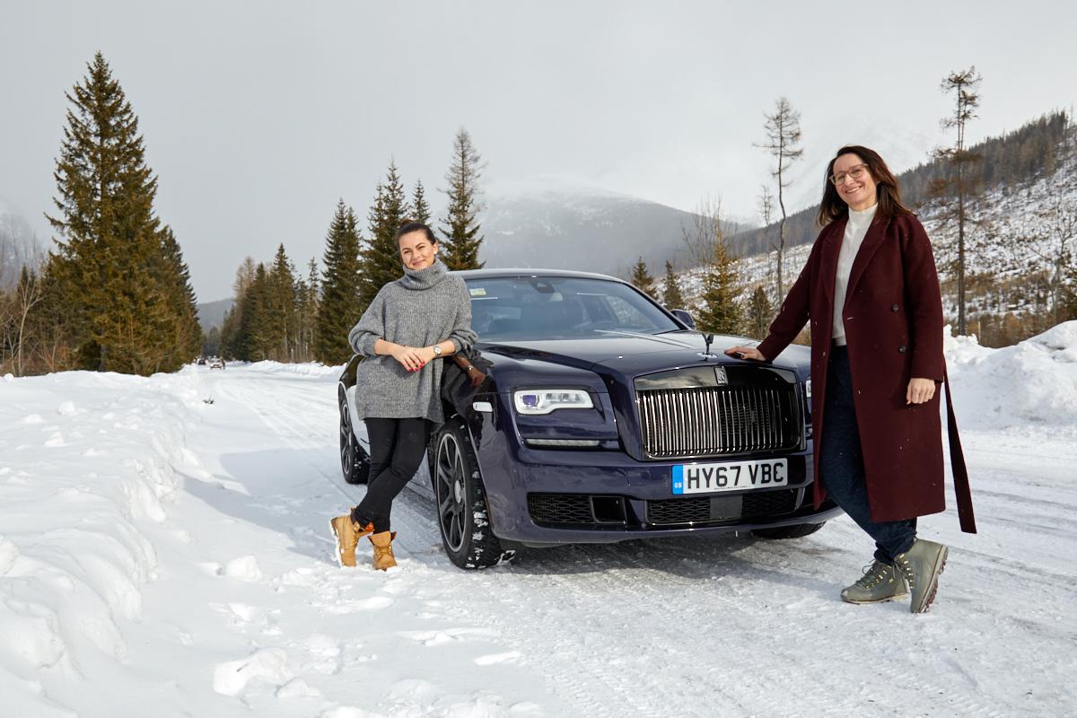 Rolls-Royce na lodzie