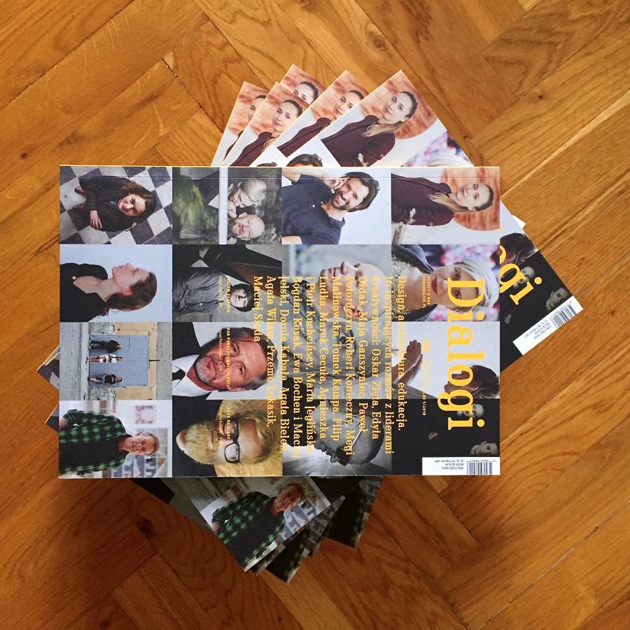 """Dialogi – 16 inspirujących rozmów z liderami kreatywności. Wydanie specjalne """"Design Alive"""" już w sprzedaży!"""