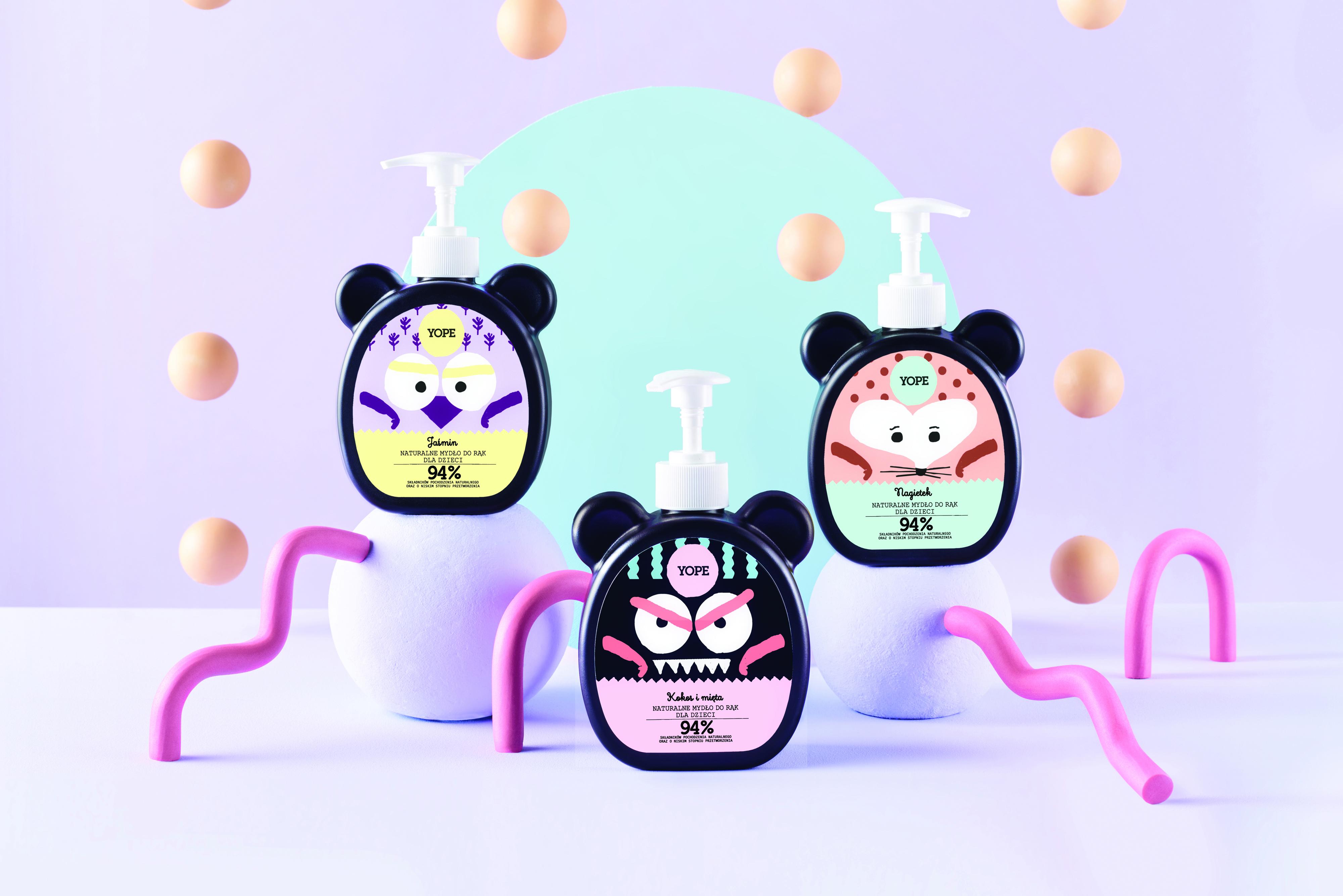 Kosmetyki delikatne dla skóry dziecka