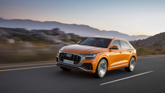 Nowe oblicze samochodów rodziny Q: Audi Q8