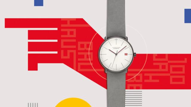 Zegarek dla miłośników Bauhausu z okazji jubileuszu 100-lecia