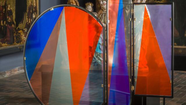 Niezwykłe parawany polskich artystów w darze dla Muzeum Narodowego