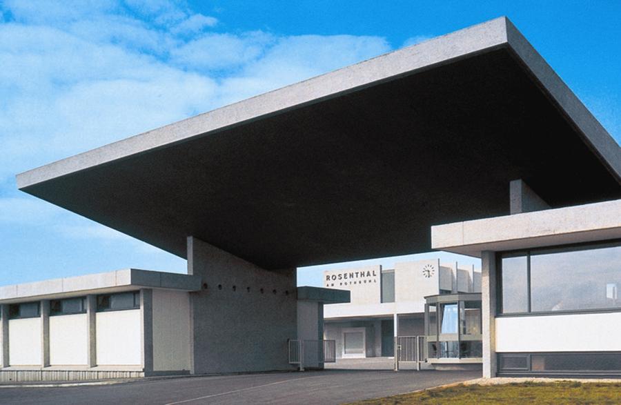 Fabryka marki Rosenthal projektu Waltera Gropiusa.
