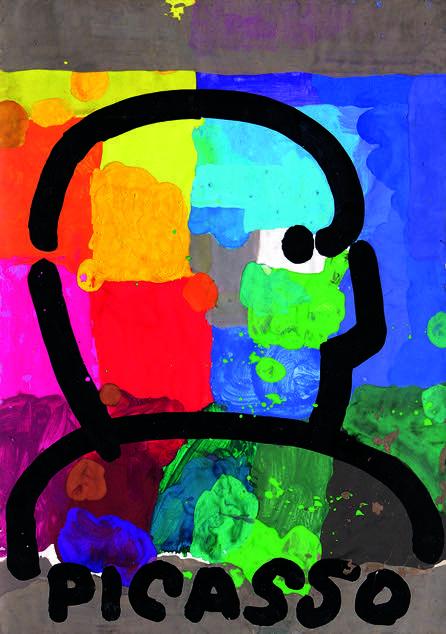 Galeria Grafiki i Plakatu. _Picasso_, autor_Jan_Młodożeniec-kopia