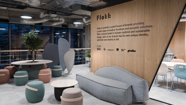 Designerski Showroom Flokk otwarty