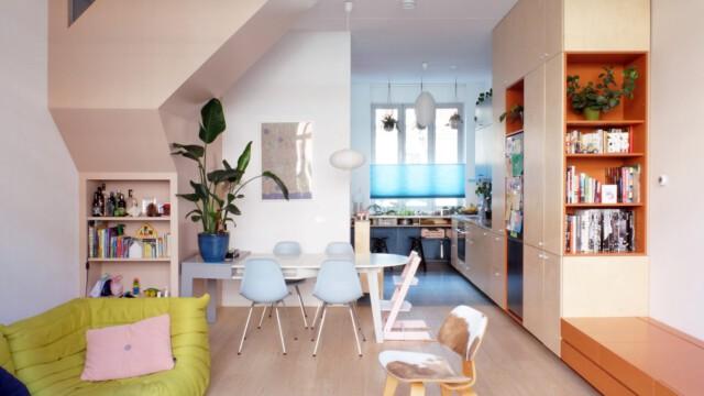 Kolorowy dom w Rotterdamie autorstwa Lagado Architects
