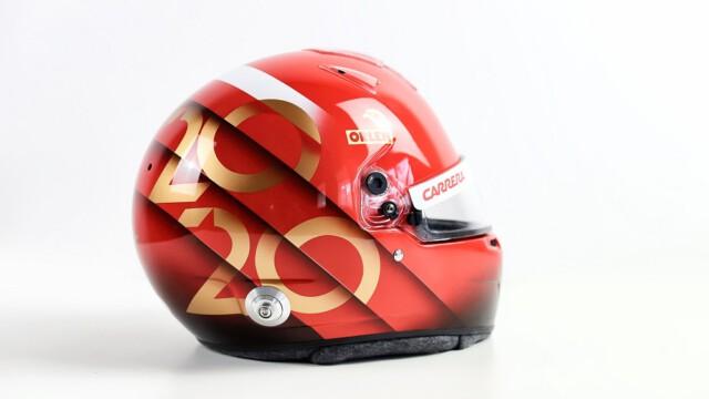 Patryk Hardziej zaprojektował kask Roberta Kubicy