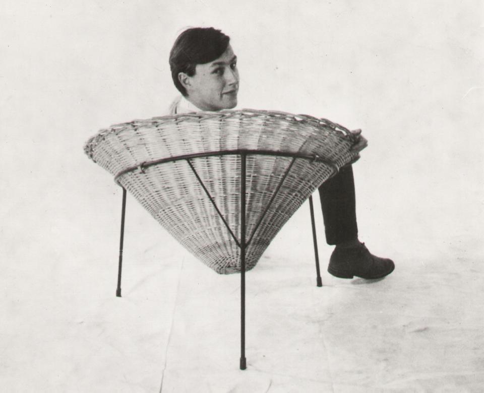 Terence Conran, około roku 1950. Zdjęcie: Ray Williams