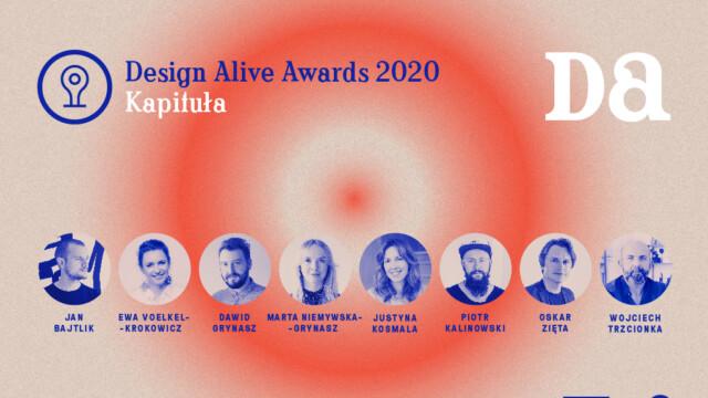 Rusza Design Alive Awards 2020! Poznajcie jurorów