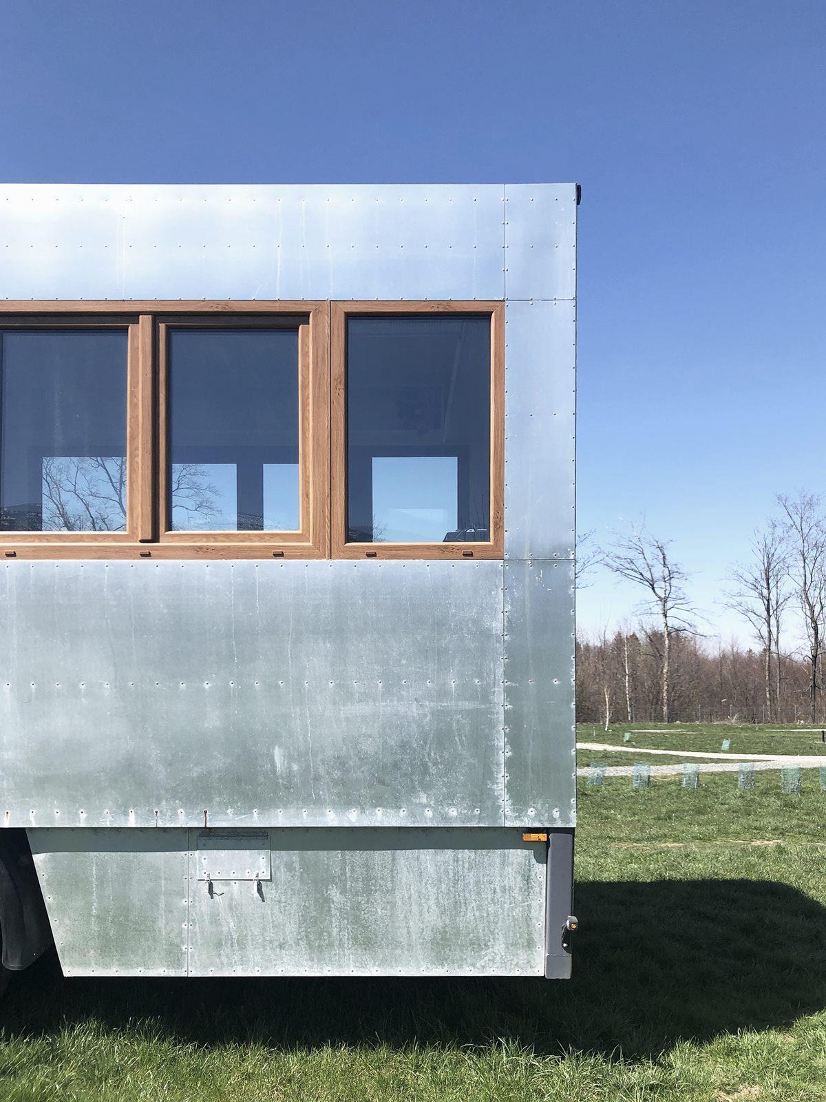 Projekt hotelu mobilnego - Biuro architektoniczne Znamy się - architekt Wrocław