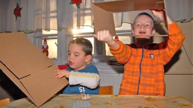 Dzieci zaprojektowały święta