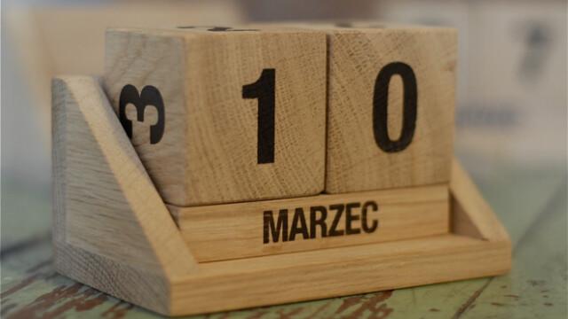 Konkurs: Wygraj kalendarz z drewna!