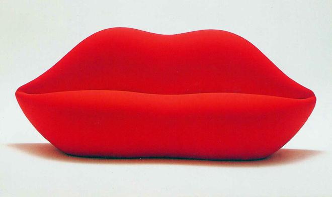 Ikony designu: Bocca, czyli ach te czerwone usta!