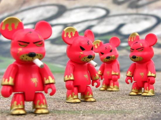 Nurt Designer Toys to świeże na świecie zjawisko, istniejące od kilkunastu lat. W Polsce pojawił się ok. 2006 roku. fot. ARC